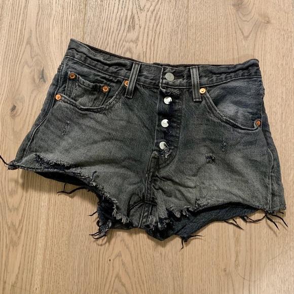 Levi's Pants - DIY Levi's cutoff shorts